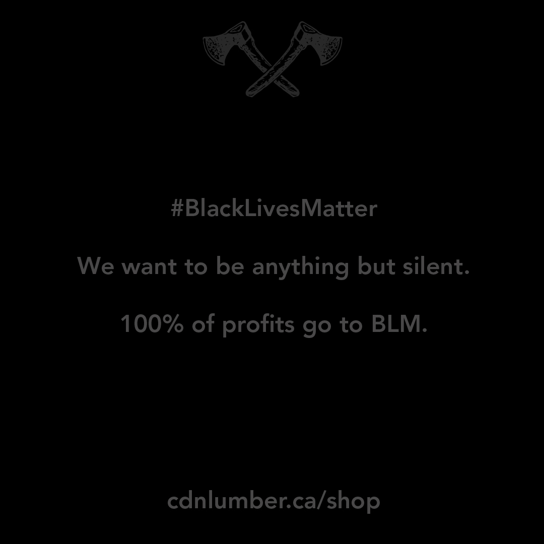 Canadian Lumber Ltd. Cannabis accessory and apparel brand stands in solidarity with BLM