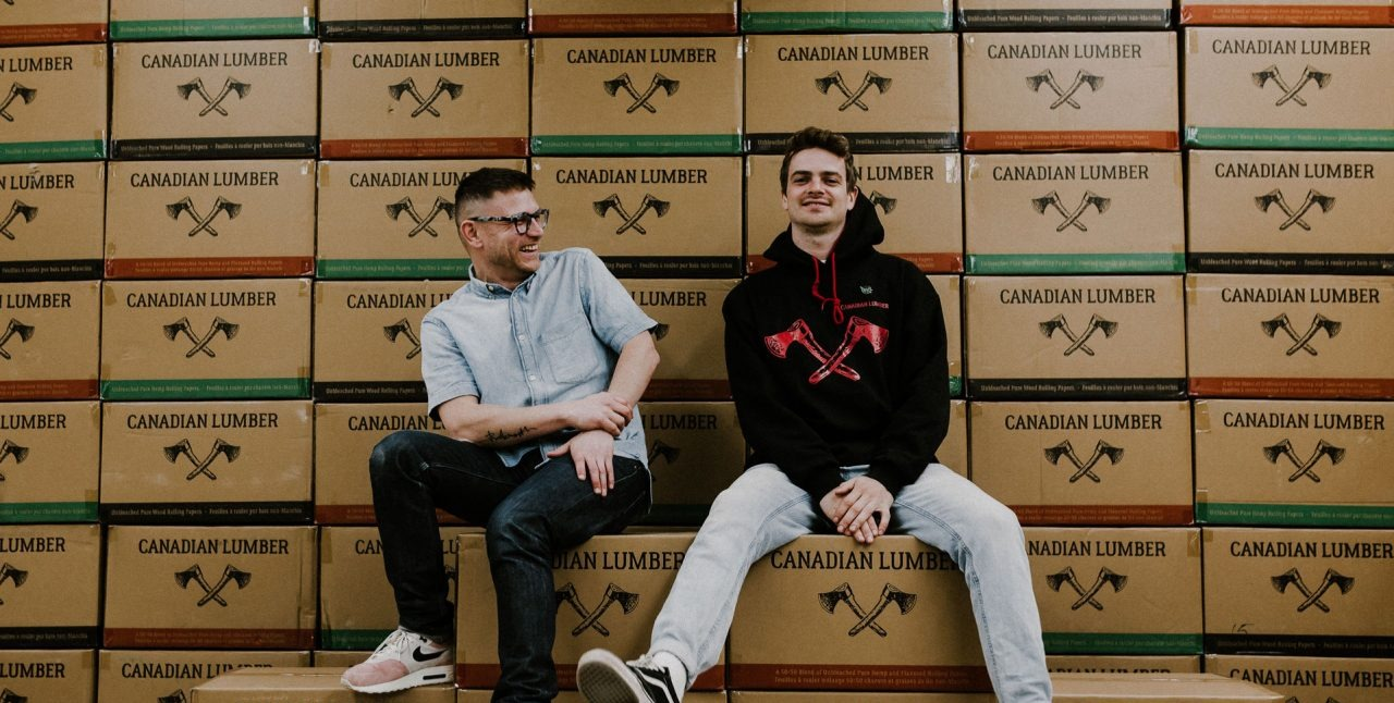 Canadian Lumber cannabis accessories and apparel, a Canadian rolling paper company with Canadian values