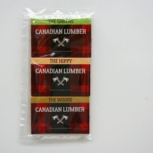 Canadian Lumber all natural premium rolling paper six pack - variety pack edition