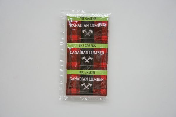 Canadian Lumber all natural premium rolling paper six pack - The Greens edition